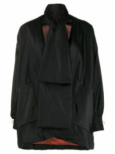 Gucci oversized padded jacket - Black