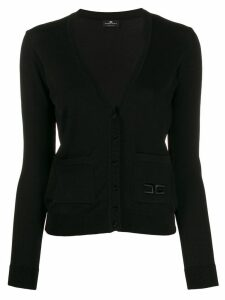 Elisabetta Franchi V-neck knitted cardigan - Black