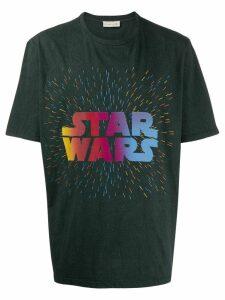 Etro Star Wars slogan T-shirt - Grey