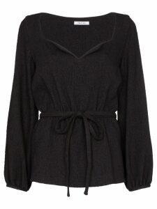 Deitas liz belted blouse - Black
