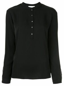Fabiana Filippi button-detail blouse - Black