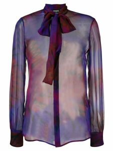 Dsquared2 tie-dye print shirt - Purple