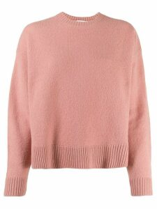 Hope long-sleeve flared sweater - PINK