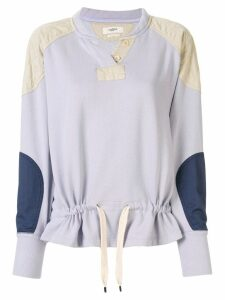 Isabel Marant Étoile colour block jumper - PURPLE