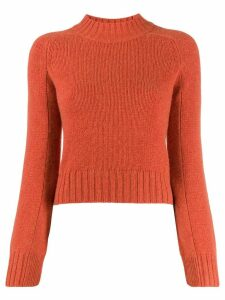 Vince slim-fit jumper - Orange