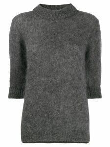 Lardini round neck jumper - Grey