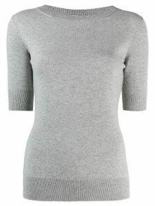 Fabiana Filippi round neck jumper - Grey