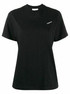 Coperni logo print T-shirt - Black