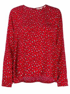 Levi's leopard-print top - Red