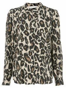 Diane von Furstenberg Mariah shirt - Brown
