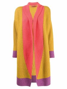 Missoni colour-block cardigan - Yellow