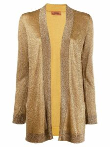 Missoni open front cardigan - Yellow