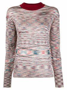 Missoni striped pattern jumper - Blue