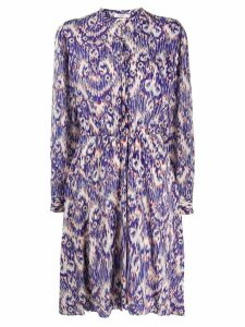 Isabel Marant Étoile abstract pattern day dress - Blue