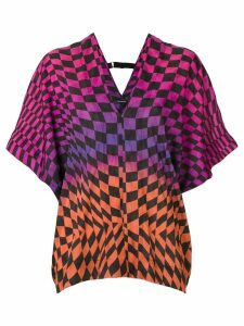 À La Garçonne Racing printed blouse - Multicolour