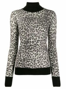 Michael Michael Kors leopard print jumper - Grey
