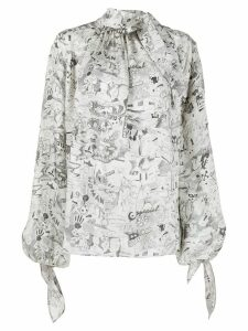 Off-White printed blouse