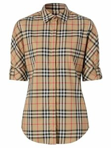 Burberry vintage check shirt - Brown