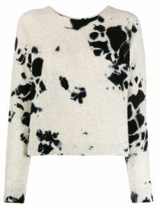 Suzusan relaxed-fit cashmere jumper - Neutrals