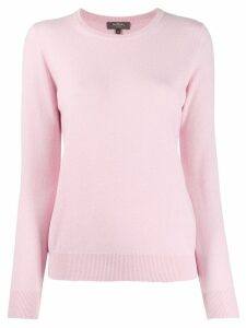 N.Peal round neck sweater - PINK