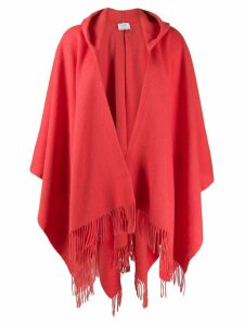 Snobby Sheep fringed hooded cardigan - ORANGE