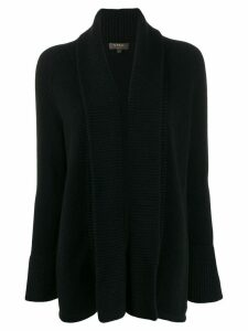 N.Peal open front cardigan - Black