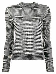 Missoni striped knit sweater - Black