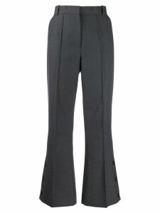 Rokh wide-leg tailored trousers - Grey