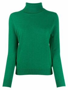 N.Peal polo neck sweater - Green
