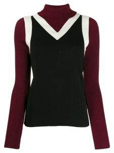 Tommy Hilfiger Tommy x Zendaya tank top effect jumper - Black