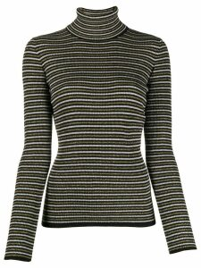 Tommy Hilfiger x Zendaya striped jumper - Black