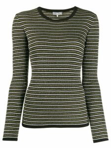 Tommy Hilfiger x Zendaya glittery stripe knitted top - Black