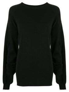 Boyarovskaya dolman sleeve jumper - Black