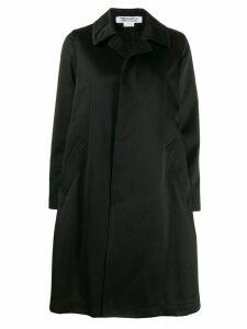Comme Des Garçons Comme Des Garçons concealed front fastening coat -
