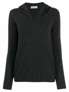 Pringle of Scotland slim-fit hooded jumper - Grey