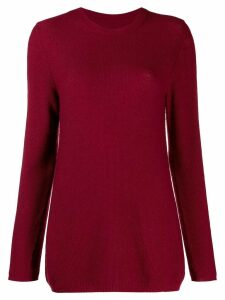Holland & Holland oversized jumper - Red