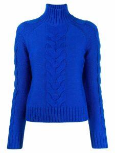 Joseph cable knit jumper - Blue