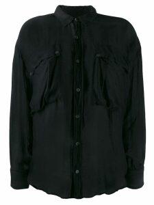 Katharine Hamnett London Alex shirt - Black