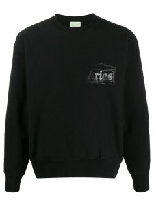 Aries temple logo sweatshirt - Black