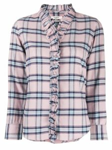 Isabel Marant Étoile ruffled placket shirt - PINK