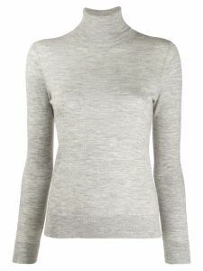 N.Peal roll neck sweater - Grey