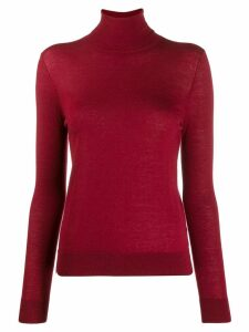 N.Peal roll neck sweater - Red