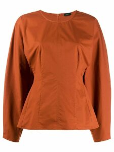 Joseph Cass blouse - ORANGE