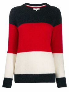 Tommy Hilfiger knitted striped jumper - Blue
