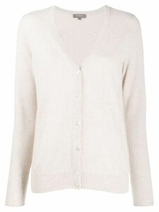 N.Peal V-neck cardigan - NEUTRALS