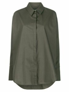Frenken oversized long-sleeve shirt - Green