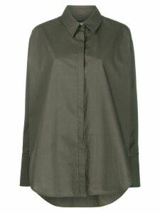 Frenken oversized long-sleeve shirt - Green