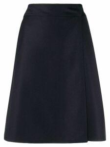 A.P.C. high waisted skirt - Blue