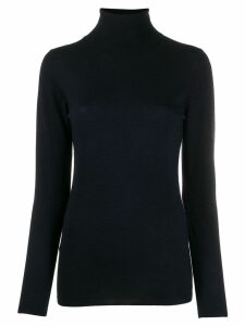 Snobby Sheep turtle-neck fitted sweater - Blue