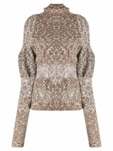 Lemaire distressed detail sweater - Neutrals